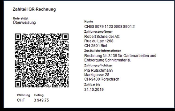 Zur neuen QR-Rechnung mit REFIDAR MOORE STEPHENS AG